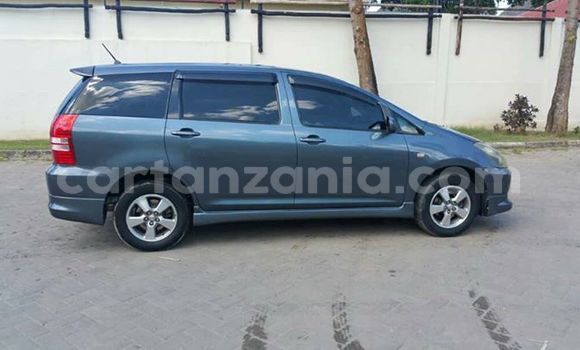 Buy Used Toyota Wish Blue Car in Dar es Salaam in Dar es Salaam