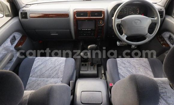 Buy Used Toyota Land Cruiser Prado Silver Car in Arusha in Arusha
