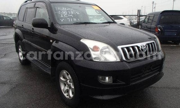 Buy Used Toyota Prado Black Car in Dar es Salaam in Dar es Salaam