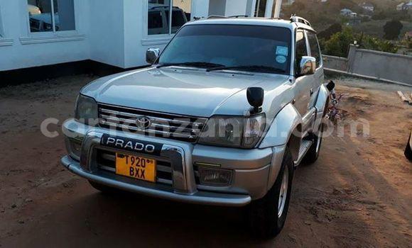 Buy Used Toyota Prado Silver Car in Dar es Salaam in Dar es Salaam