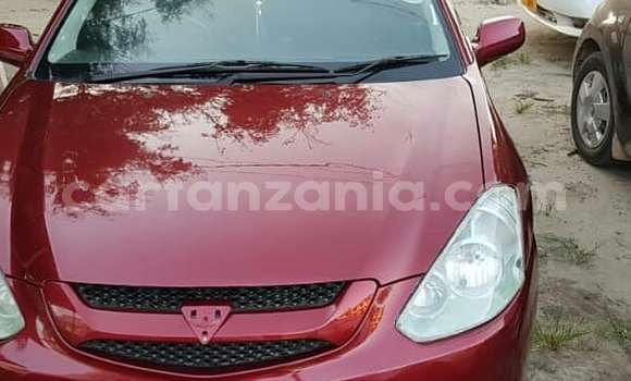 Buy Used Toyota Caldina Red Car in Dar es Salaam in Dar es Salaam