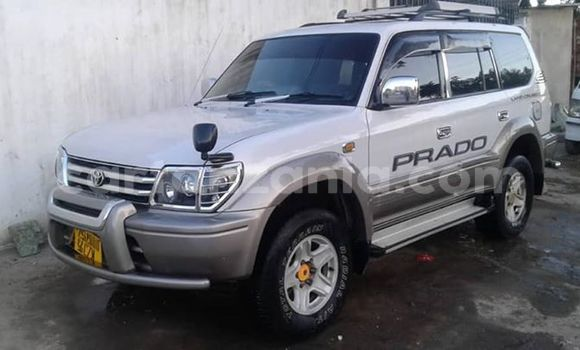 Buy Used Toyota Prado White Car in Dar es Salaam in Dar es Salaam