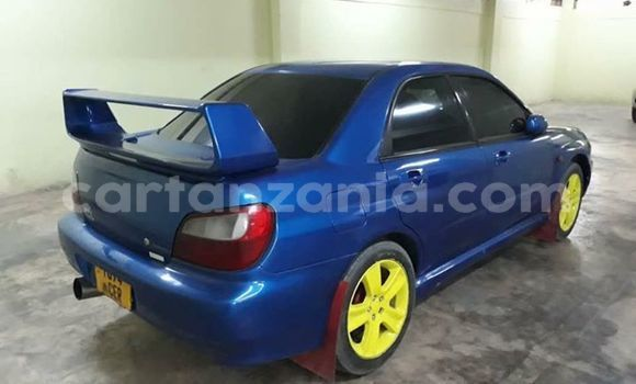 Buy Used Subaru Impreza Blue Car in Dar es Salaam in Dar es Salaam