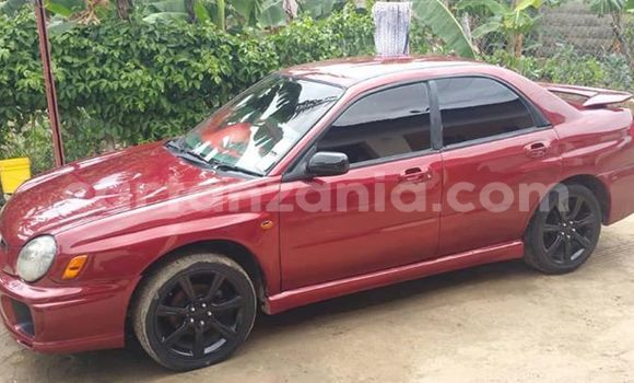 Buy Used Subaru Impreza Red Car in Dar es Salaam in Dar es Salaam