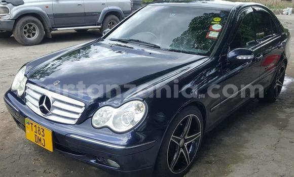 Buy Used Mercedes Benz C–Class Blue Car in Dar es Salaam in Dar es Salaam