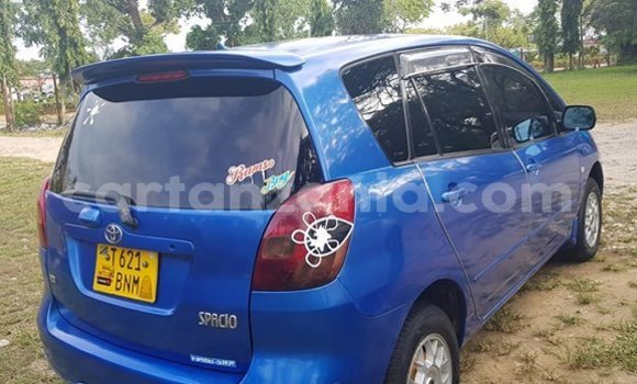 Buy Used Toyota Spacio Blue Car in Tanga in Tanga
