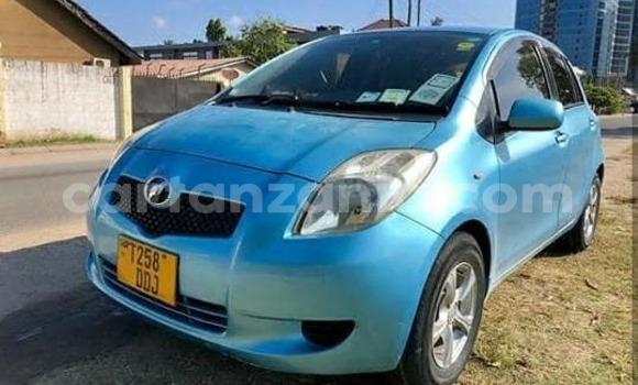 Buy Used Toyota Vitz Blue Car in Dar es Salaam in Dar es Salaam