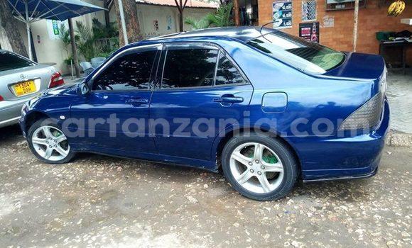 Buy Used Toyota Altezza Blue Car in Dar es Salaam in Dar es Salaam