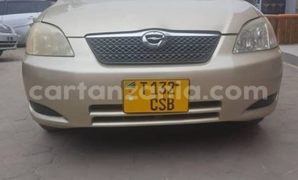 Buy Used Toyota Runx Brown Car in Dar es Salaam in Dar es Salaam