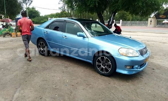 Buy Used Toyota Mark II Blue Car in Dar es Salaam in Dar es Salaam