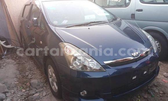Buy Used Toyota Wish Blue Car in Dar es Salaam in Dar es Salaam
