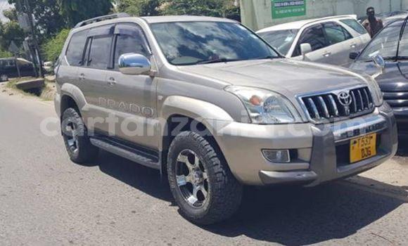 Buy Used Toyota Land Cruiser Prado Beige Car in Dar es Salaam in Dar es Salaam