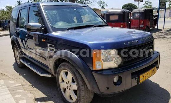 Buy Used Land Rover Discovery Blue Car in Dar es Salaam in Dar es Salaam