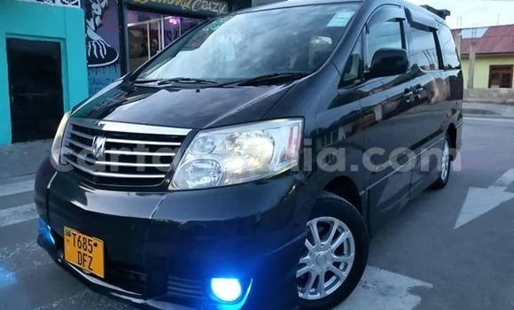 Buy Imported Toyota Alphard Black Car in Dar es Salaam in Dar es Salaam