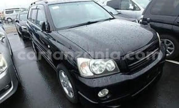 Buy Imported Toyota Kluger Black Car in Dar es Salaam in Dar es Salaam