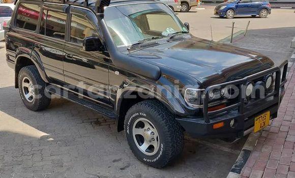 Buy Imported Toyota Land Cruiser Black Car in Dar es Salaam in Dar es Salaam