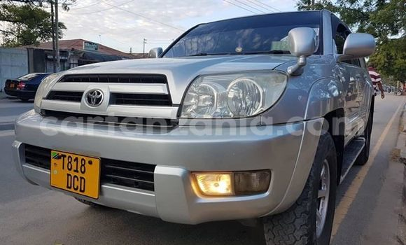 Buy Used Toyota Surf Silver Car in Dar es Salaam in Dar es Salaam