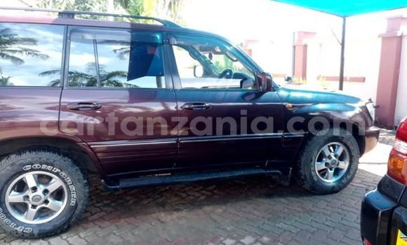 Buy Used Toyota Land Cruiser Prado Red Car in Dar es Salaam in Dar es Salaam