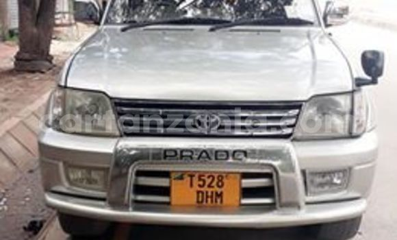 Buy Used Toyota Land Cruiser Prado Silver Car in Dar es Salaam in Dar es Salaam