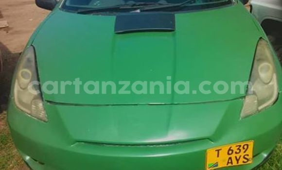 Buy Used Toyota Celica Green Car in Dar es Salaam in Dar es Salaam