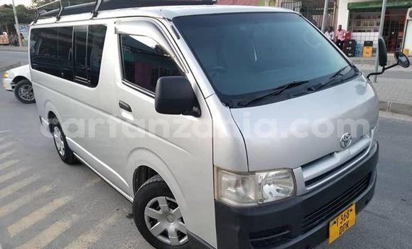 Buy Used Toyota Hiace Silver Car in Dar es Salaam in Dar es Salaam