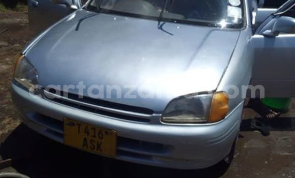 Buy Used Toyota Starlet Silver Car in Moshi in Kilimanjaro