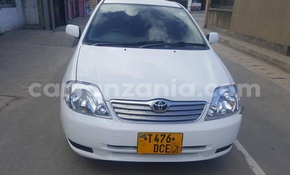 Buy Used Toyota Corolla White Car in Dar es Salaam in Dar es Salaam