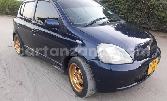 Buy Used Toyota Vitz Blue Car in Dar es Salaam in Dar es Salaam