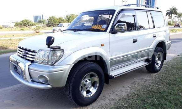 Buy Used Toyota Land Cruiser Prado White Car in Dar es Salaam in Dar es Salaam