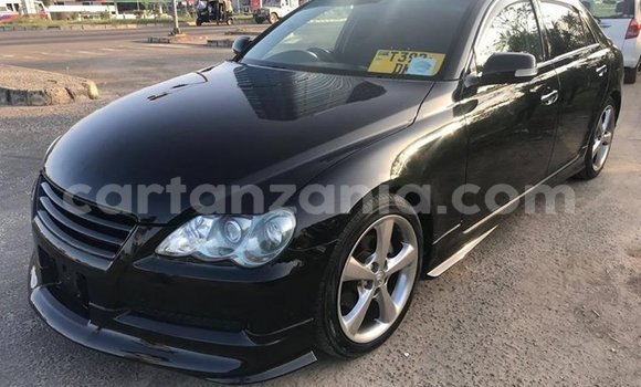Buy Used Toyota Mark X Black Car in Dar es Salaam in Dar es Salaam