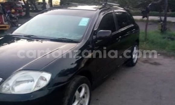 Buy Used Toyota Runx Black Car in Dar es Salaam in Dar es Salaam