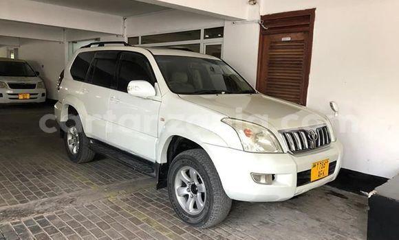 Buy Used Toyota Land Cruiser Prado White Car in Dodoma in Dodoma