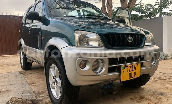 Buy Used Daihatsu Terios Green Car in Dar es Salaam in Dar es Salaam