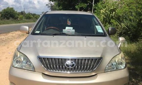 Buy Used Toyota Harrier Beige Car in Dar es Salaam in Dar es Salaam