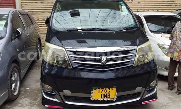 Buy Used Toyota Alphard Black Car in Dar es Salaam in Dar es Salaam