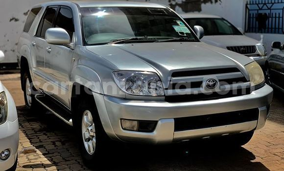Buy Used Toyota Surf Silver Car in Arusha in Arusha