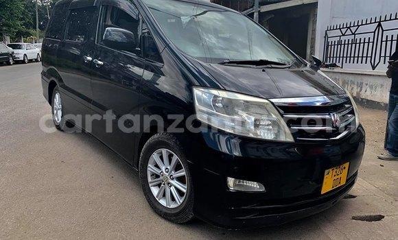 Buy Used Toyota Alphard Black Car in Arusha in Arusha