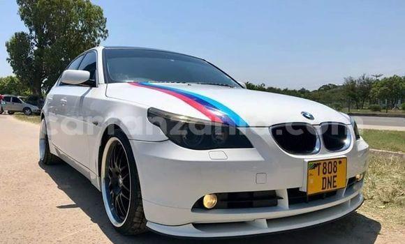Buy Used BMW 5–Series White Car in Dar es Salaam in Dar es Salaam