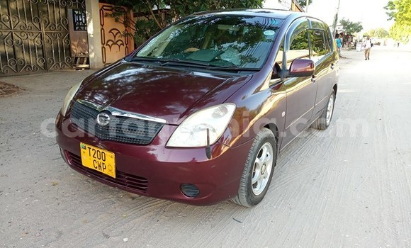 Buy Used Toyota Spacio Red Car in Dar es Salaam in Dar es Salaam