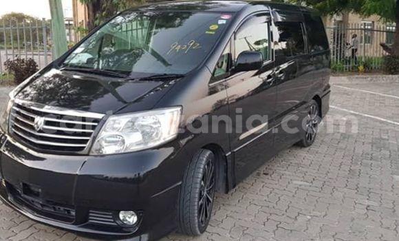 Buy Used Toyota Alphard Black Car in Dar es Salaam in Dar es Salaam