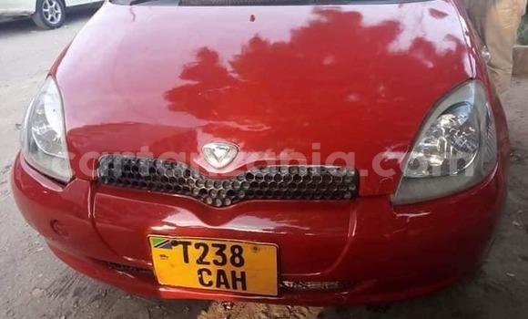 Buy Used Toyota Vitz Red Car in Dar es Salaam in Dar es Salaam