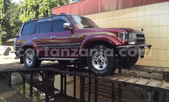 Buy Used Toyota Land Cruiser Red Car in Dar es Salaam in Dar es Salaam