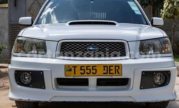 Buy Used Subaru Forester White Car in Dar es Salaam in Dar es Salaam