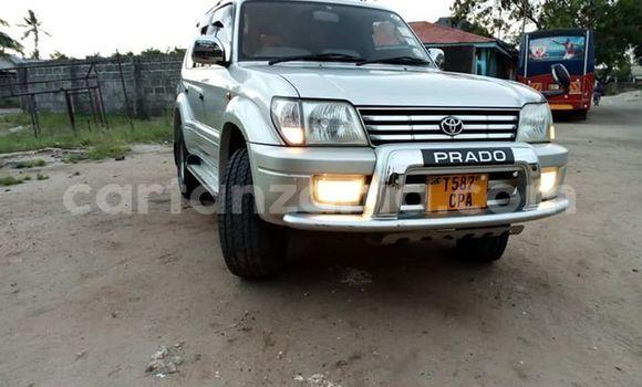 Buy Used Toyota Land Cruiser Prado Silver Car in Dar es Salaam in Dar es Salaam