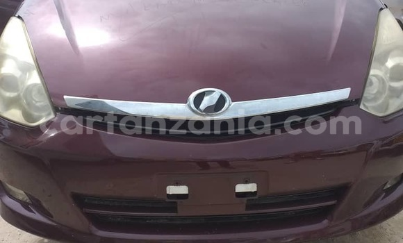 Buy Used Toyota Wish Red Car in Dar es Salaam in Dar es Salaam