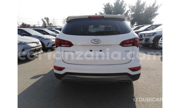 Buy Import Hyundai Santa Fe White Car in Import - Dubai in Arusha