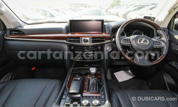 Buy Import Lexus LX White Car in Import - Dubai in Arusha