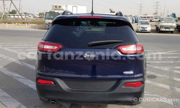 Buy Import Jeep Cherokee Blue Car in Import - Dubai in Arusha