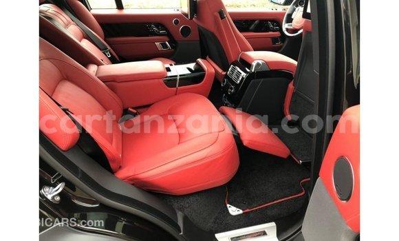 Buy Import Land Rover Range Rover Black Car in Import - Dubai in Arusha