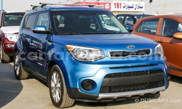 Buy Import Kia Soul Blue Car in Import - Dubai in Arusha